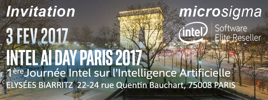 Intel AI DAY 2017 Paris - 3 Fev 2017
