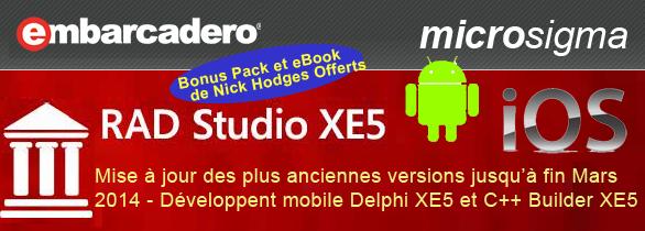Promo RAD Studio XE3 2013