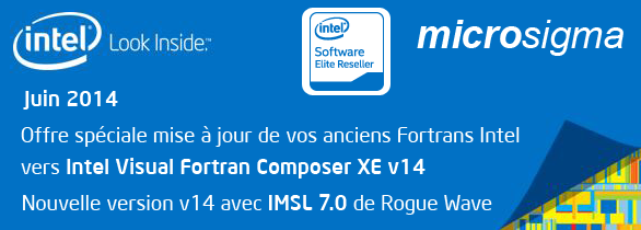 Intel Software Promo Juin 2014