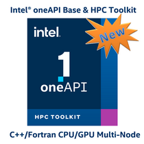Intel oneAPI BASE & HPC Toolkit  C++ / Fortran outils Multi-Node