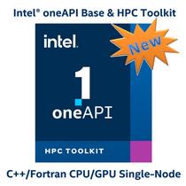 Intel oneAPI BASE & HPC Toolkit  C++ / Fortran outils Single-Node