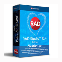 RAD Studio 10.4 Sydney  Architect Academic Licence 1 An