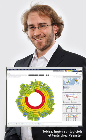 Tobias, Ingénieur logiciels et tests chez Paessler
